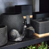 cache-pot-poterie-deco-design-noir-fleuriste-bordeaux