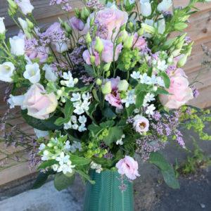 bouquet champêtre artisan fleuriste