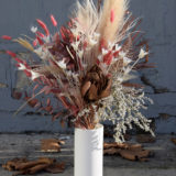 bouquet fleurs séchées Bègles